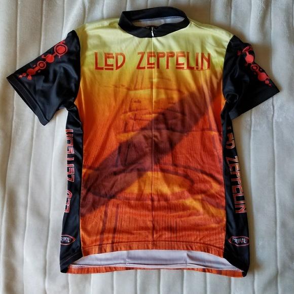 ❤Led Zeppelin Bike jersey NWOT- Size XL. M 5a48021972ea88960916d709 7ee3b1435